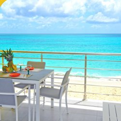 1 bedroom beachfront vacation rental, St. Maarten, Caribisch Nederland/Caribbean
